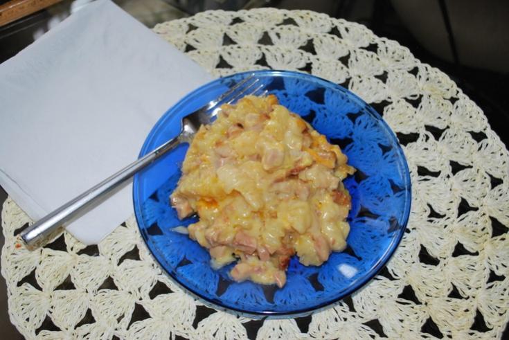 French Fried Cheesy ham bake-cheesy-ham-bake-jpg