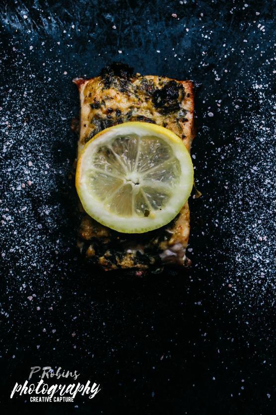 Parsley Salmon with Honey Mustard Sauce-img_5665-2logo-jpg
