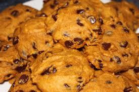 Pumpkin Chocolate Chip Cookies-images-jpeg