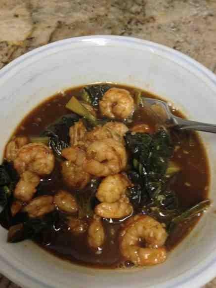 Ginger Tat Soi with Fish or Shrimp-imageuploadedbytapatalk1360633431-225684-jpg