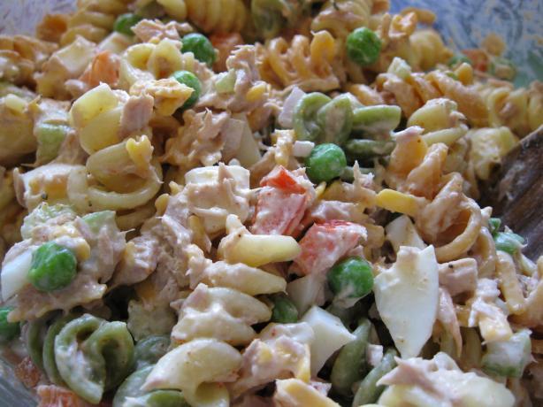 Evacuation Pasta and Tuna Salad-picvebchk-jpg